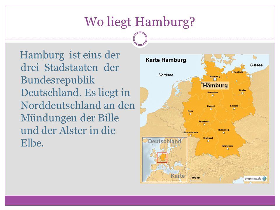 Wo liegt Hamburg
