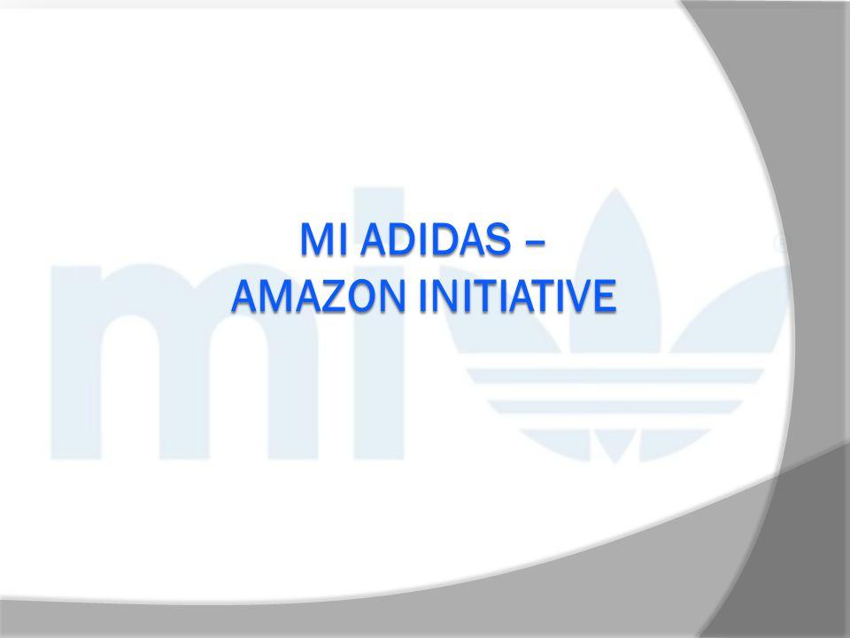 mi Adidas – Amazon initiative