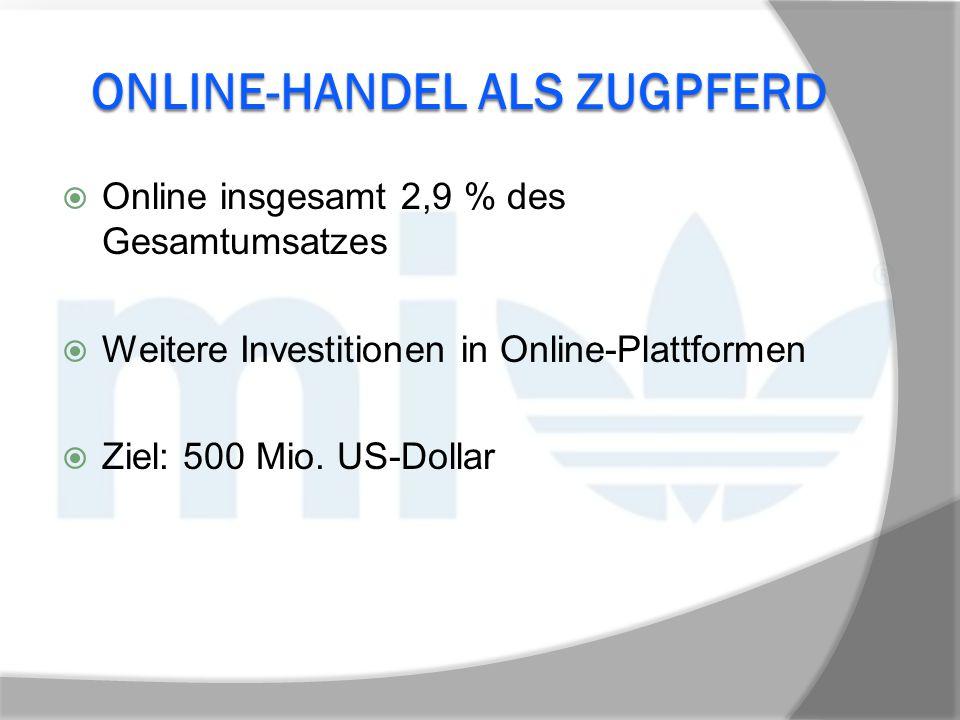 Online-Handel als Zugpferd