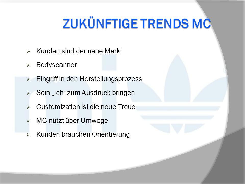 Zukünftige trends MC Kunden sind der neue Markt Bodyscanner