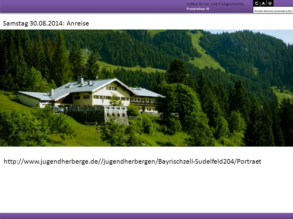 Institut für Ur- und Frühgeschichte