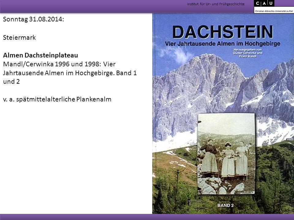 Almen Dachsteinplateau