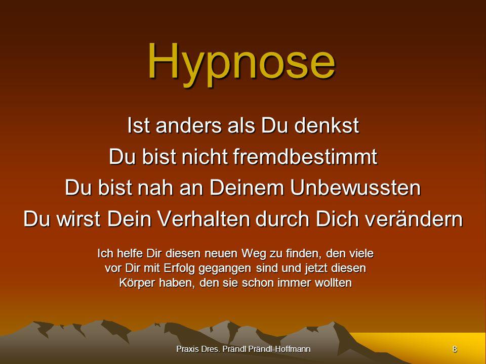 Hypnose Ist anders als Du denkst Du bist nicht fremdbestimmt