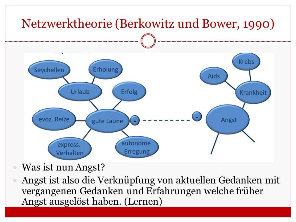 Netzwerktheorie (Berkowitz und Bower, 1990)