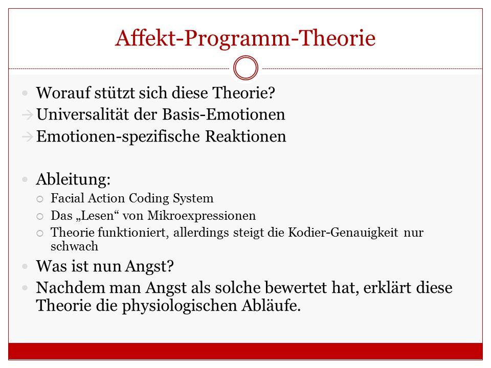 Affekt-Programm-Theorie