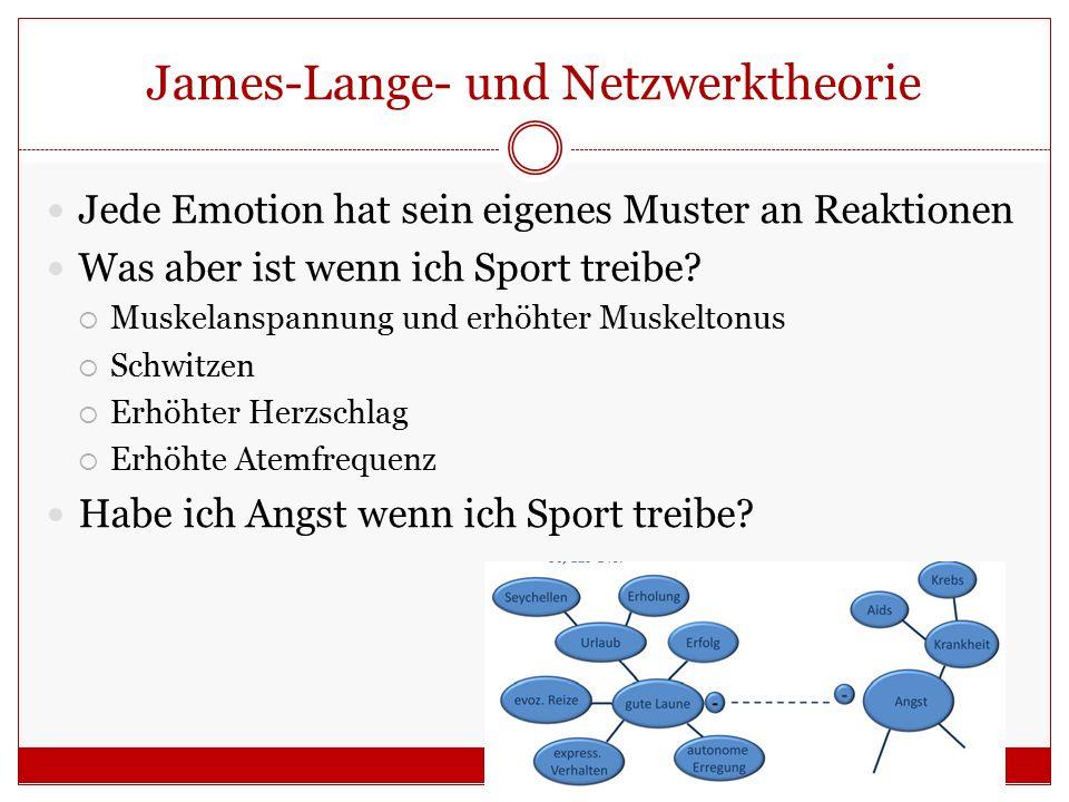 James-Lange- und Netzwerktheorie