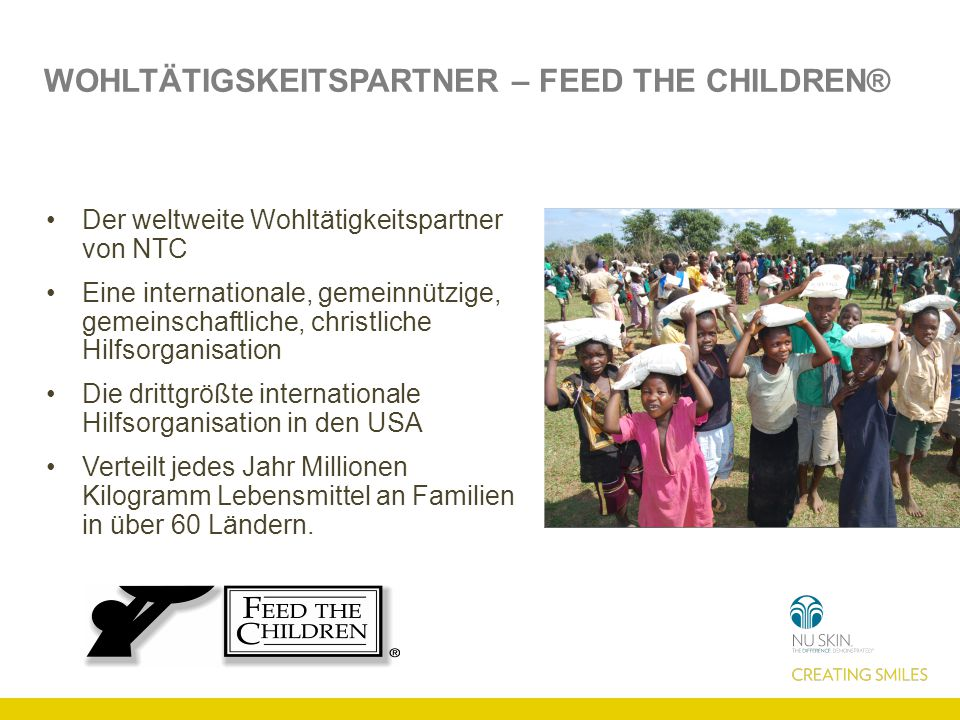 Wohltätigskeitspartner – Feed the Children®