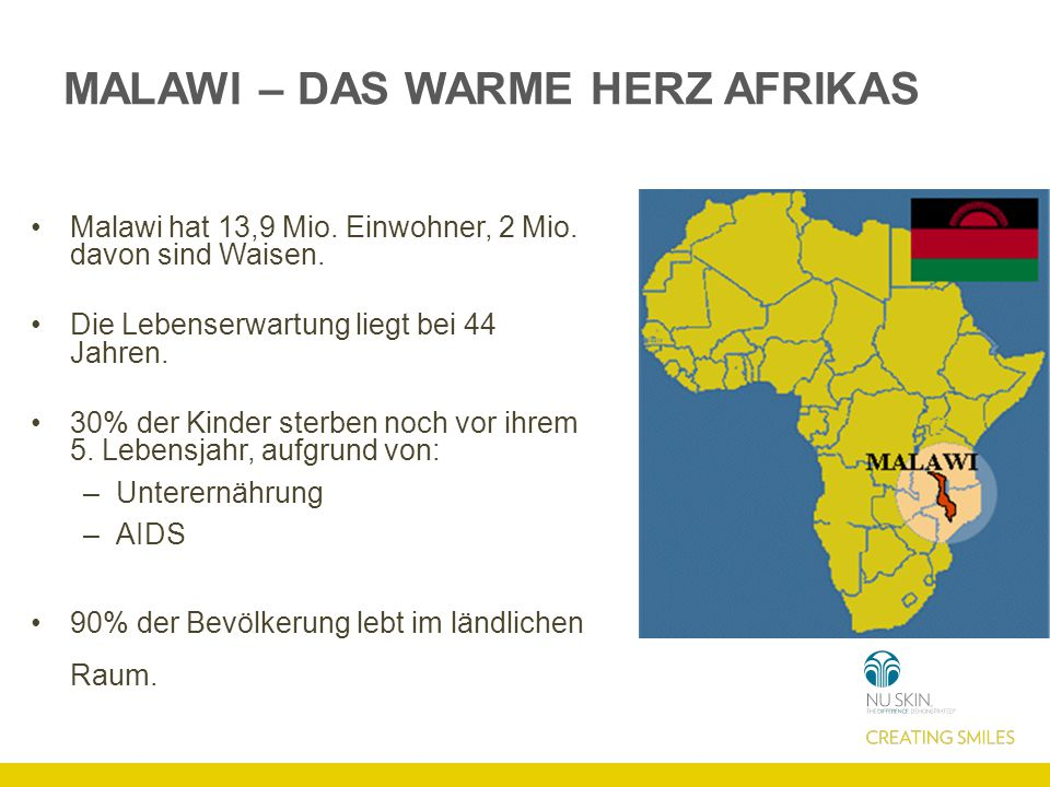 MALAWI – DAS WARME HERZ AFRIKAS
