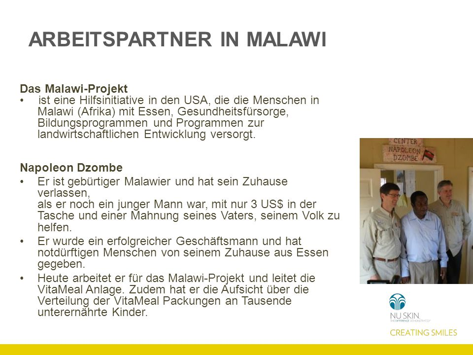 ARBEITSPARTNER IN MALAWI
