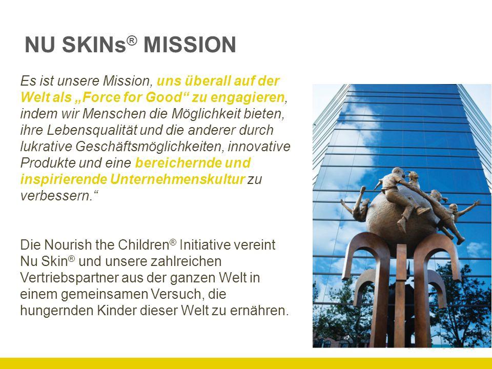 NU SKINs® MISSION