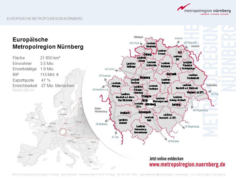 Europäische Metropolregion Nürnberg
