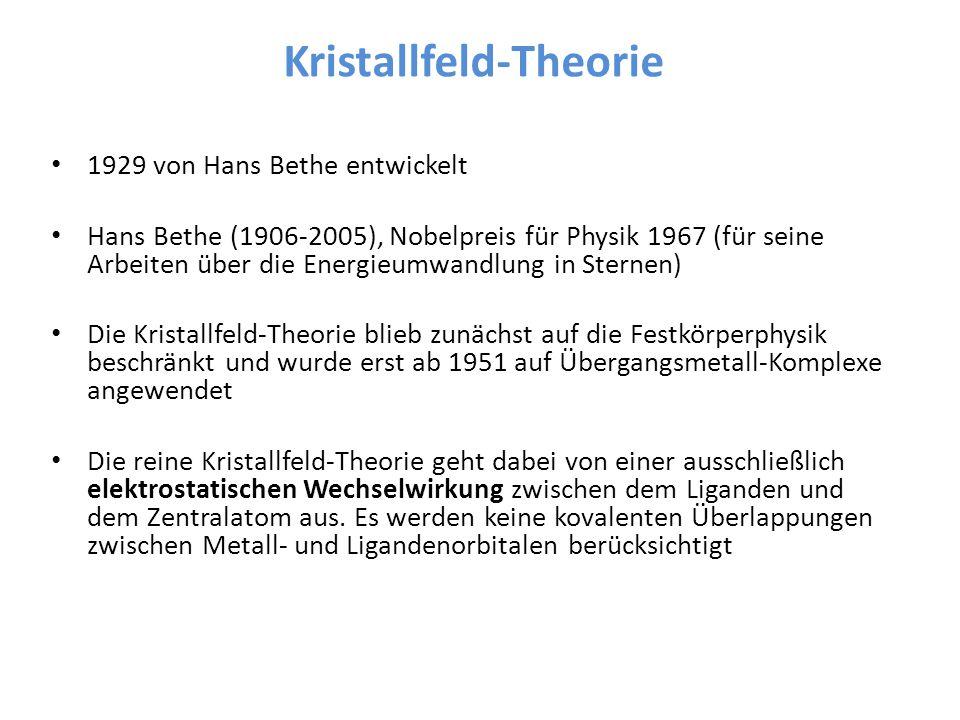 Kristallfeld-Theorie