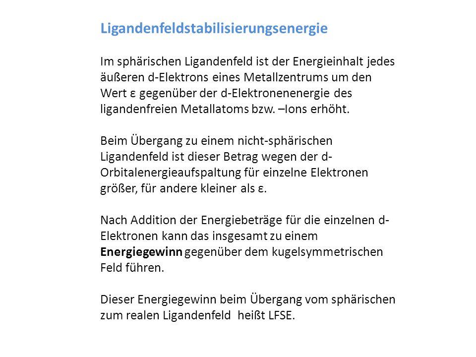 Ligandenfeldstabilisierungsenergie