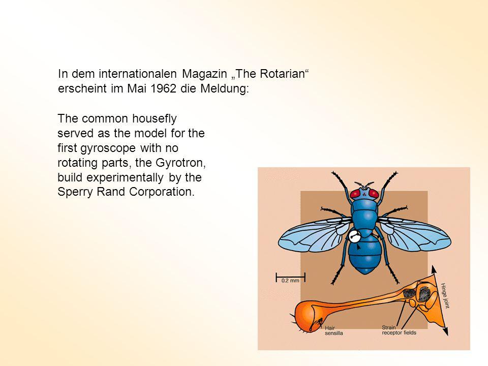 """In dem internationalen Magazin """"The Rotarian"""