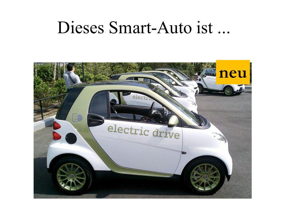 Dieses Smart-Auto ist ... neu