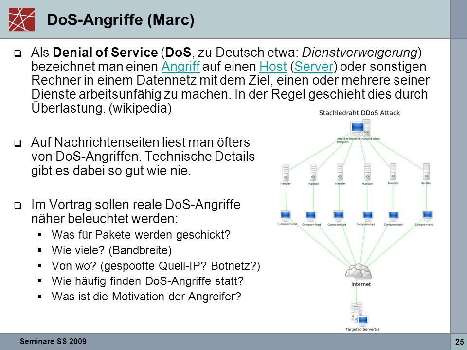 DoS-Angriffe (Marc)