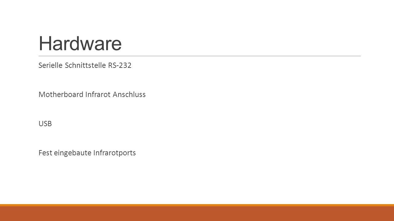 Hardware Serielle Schnittstelle RS-232 Motherboard Infrarot Anschluss
