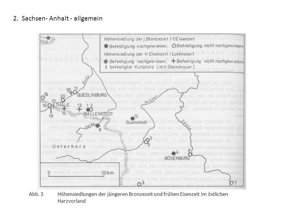 2. Sachsen- Anhalt - allgemein