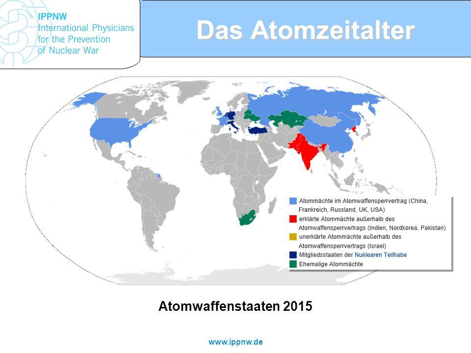 Das Atomzeitalter Atomwaffenstaaten 2015