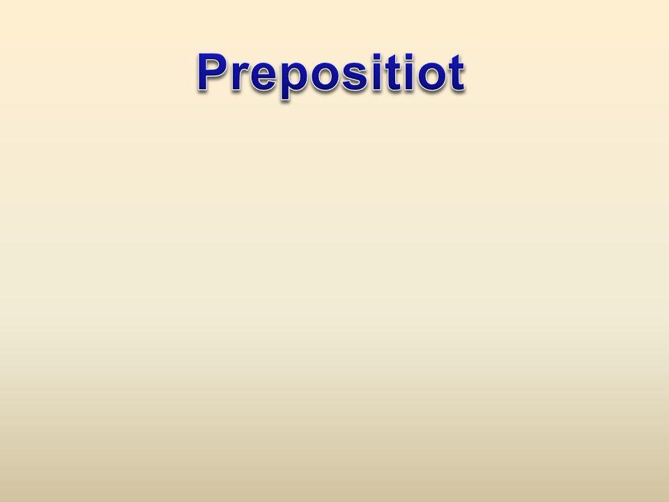Prepositiot
