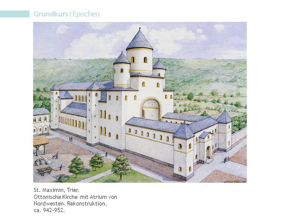 Grundkurs|Epochen St. Maximin, Trier,