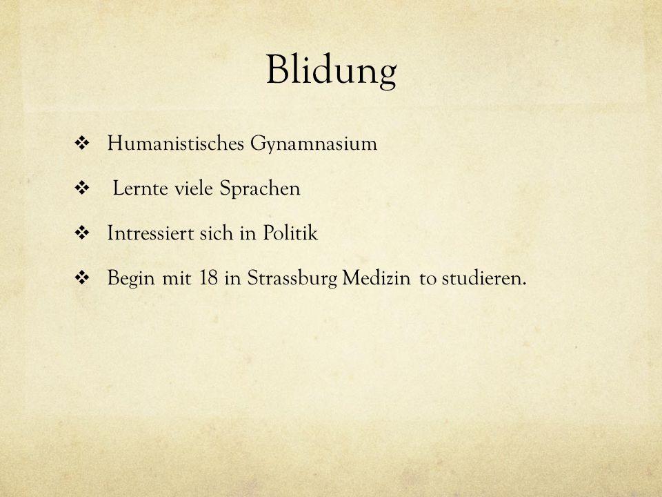 Blidung Humanistisches Gynamnasium Lernte viele Sprachen