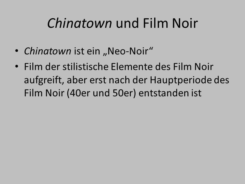 Chinatown und Film Noir