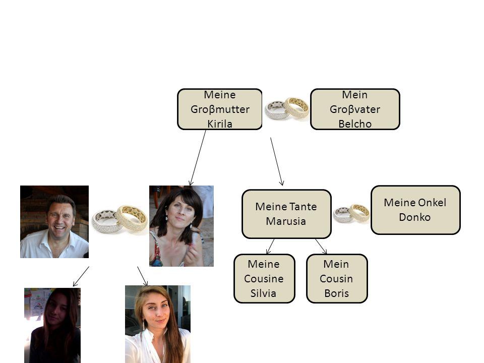 Meine Groβmutter Kirila. Mein. Groβvater. Belcho. Meine Onkel. Donko. Meine Tante. Marusia. Meine Cousine.