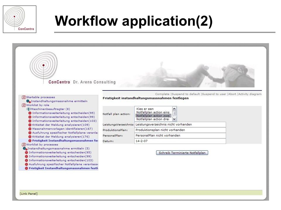 Workflow application(2)