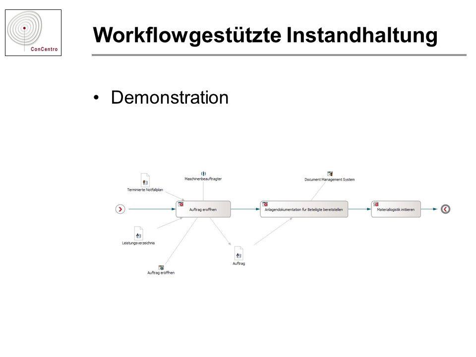 Workflowgestützte Instandhaltung