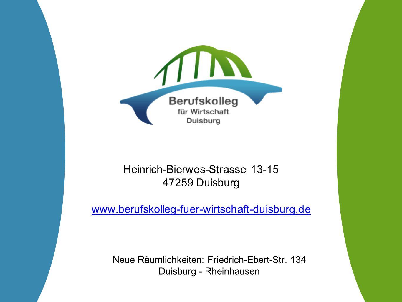 Heinrich-Bierwes-Strasse 13-15 47259 Duisburg