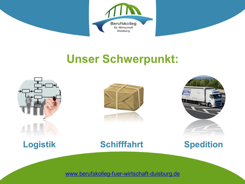 Unser Schwerpunkt: Logistik Spedition Schifffahrt