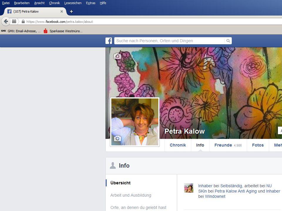 Privatprofil mit Fanpage verbinden