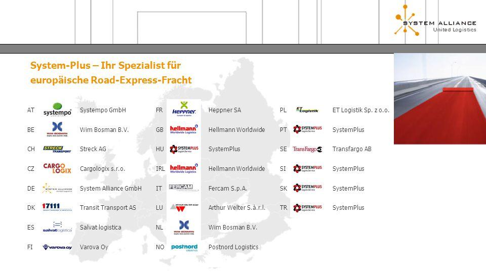 System-Plus – Ihr Spezialist für europäische Road-Express-Fracht