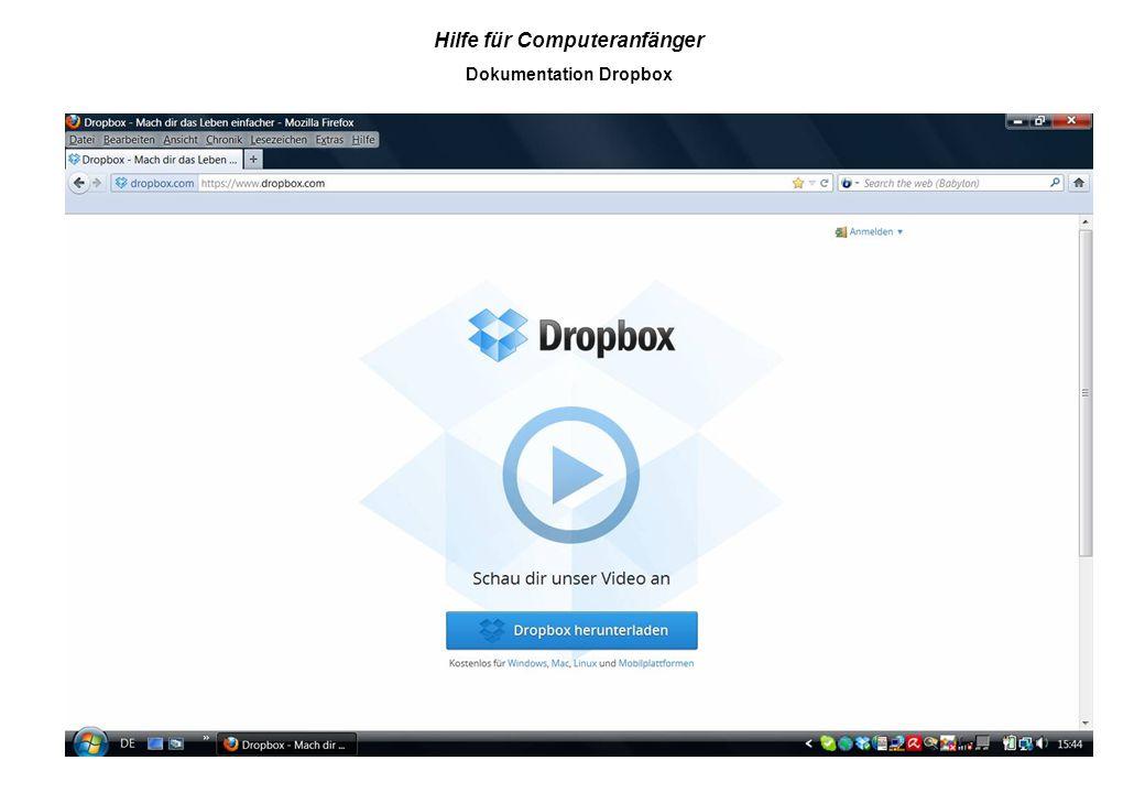 Dokumentation Dropbox