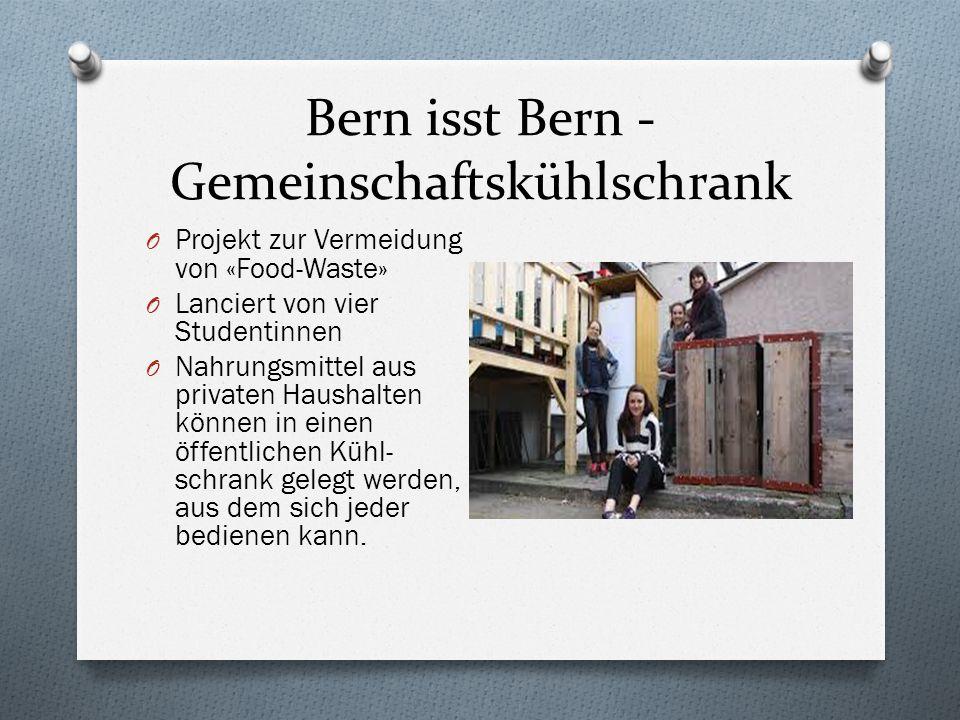 Bern isst Bern - Gemeinschaftskühlschrank