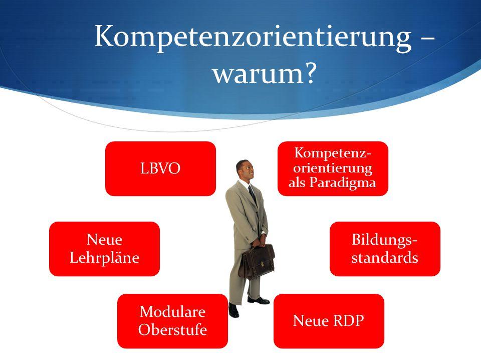 Kompetenzorientierung – warum