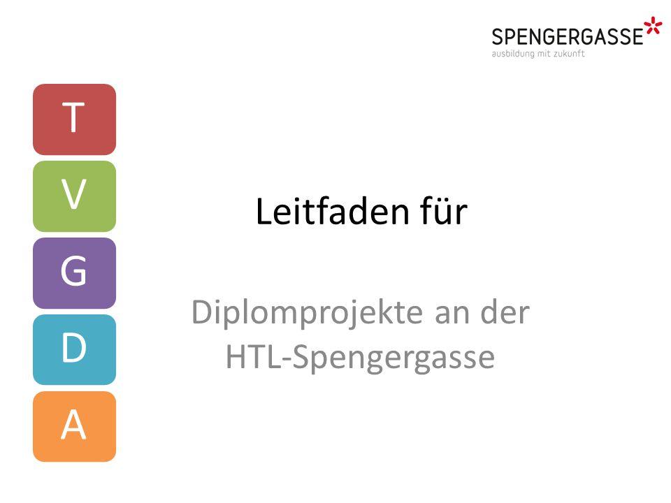 Diplomprojekte an der HTL-Spengergasse