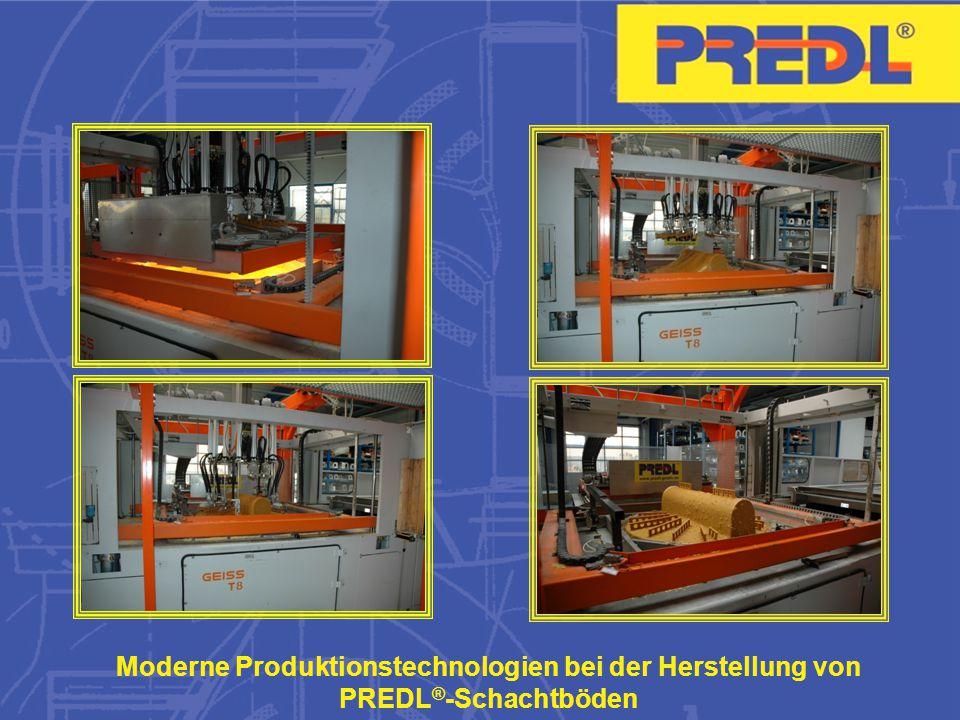 Moderne Produktionstechnologien bei der Herstellung von PREDL®-Schachtböden