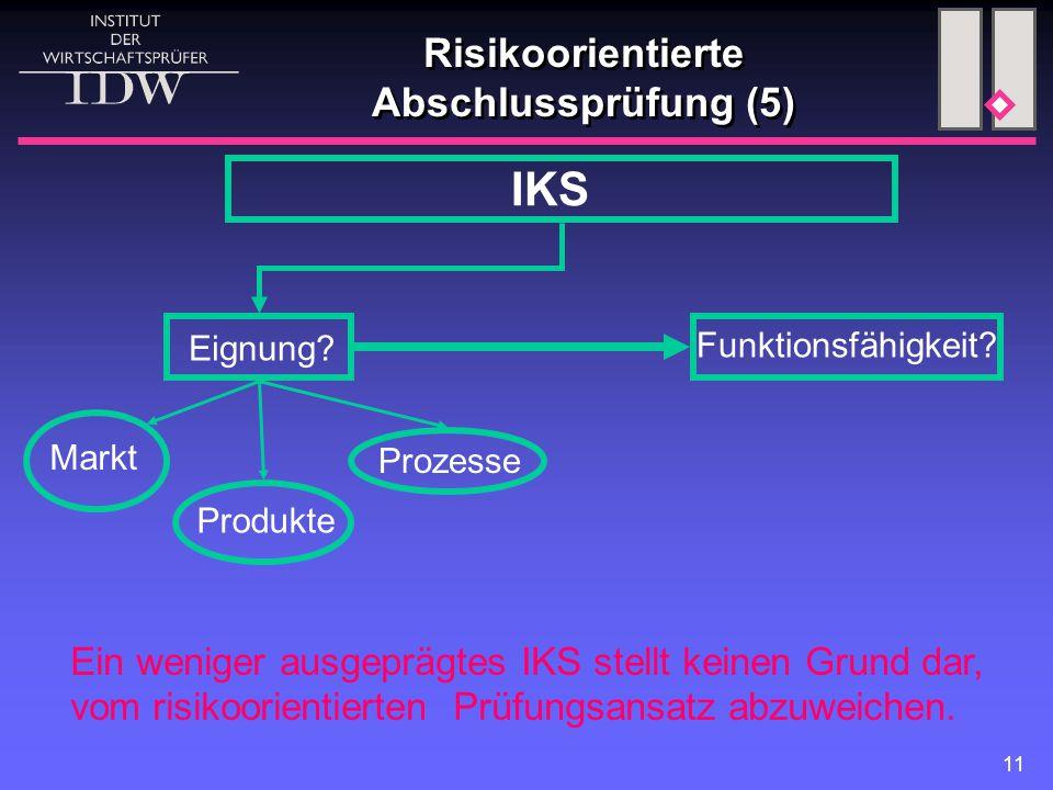 Risikoorientierte Abschlussprüfung (5)