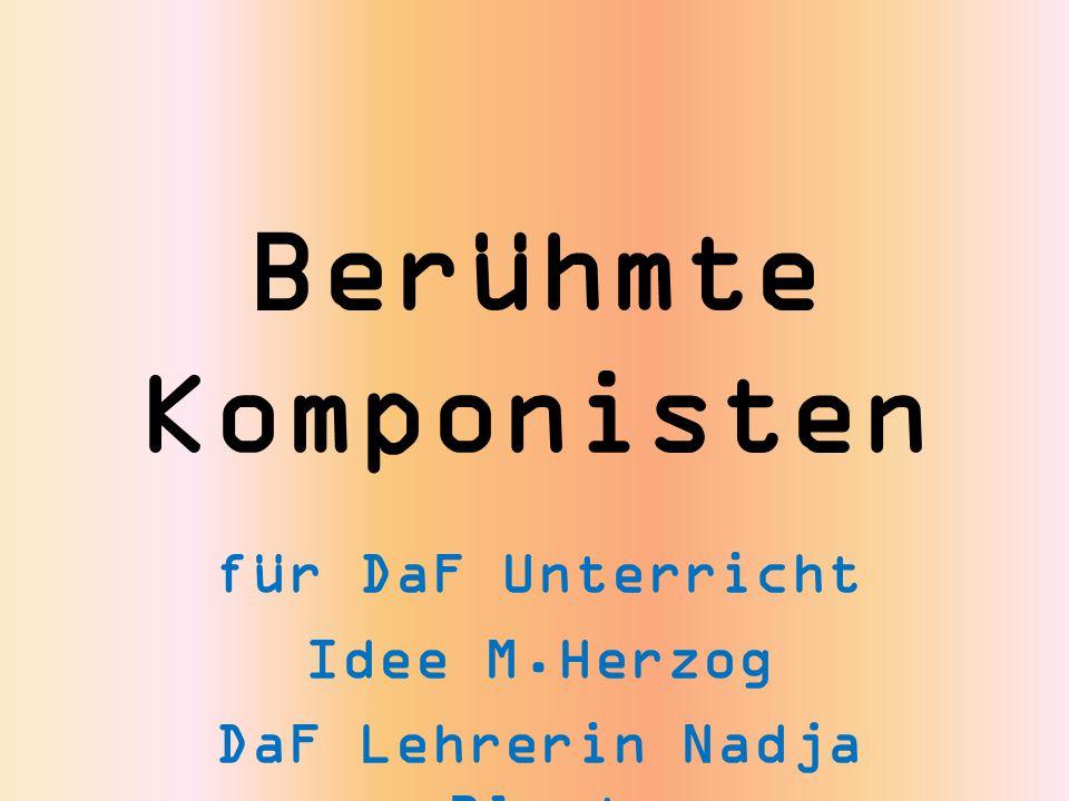 für DaF Unterricht Idee M.Herzog DaF Lehrerin Nadja Blust