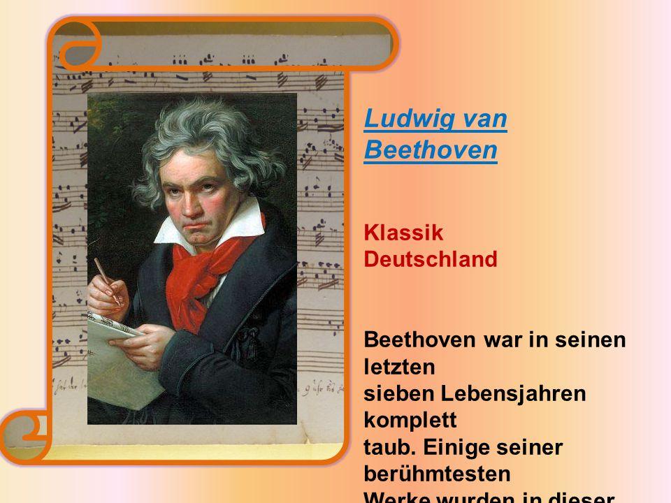 Ludwig van Beethoven Klassik Deutschland