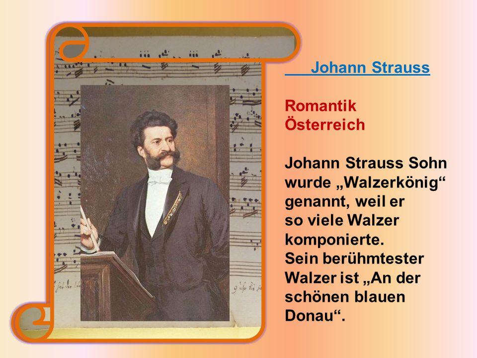 """Johann Strauss Sohn wurde """"Walzerkönig genannt, weil er"""