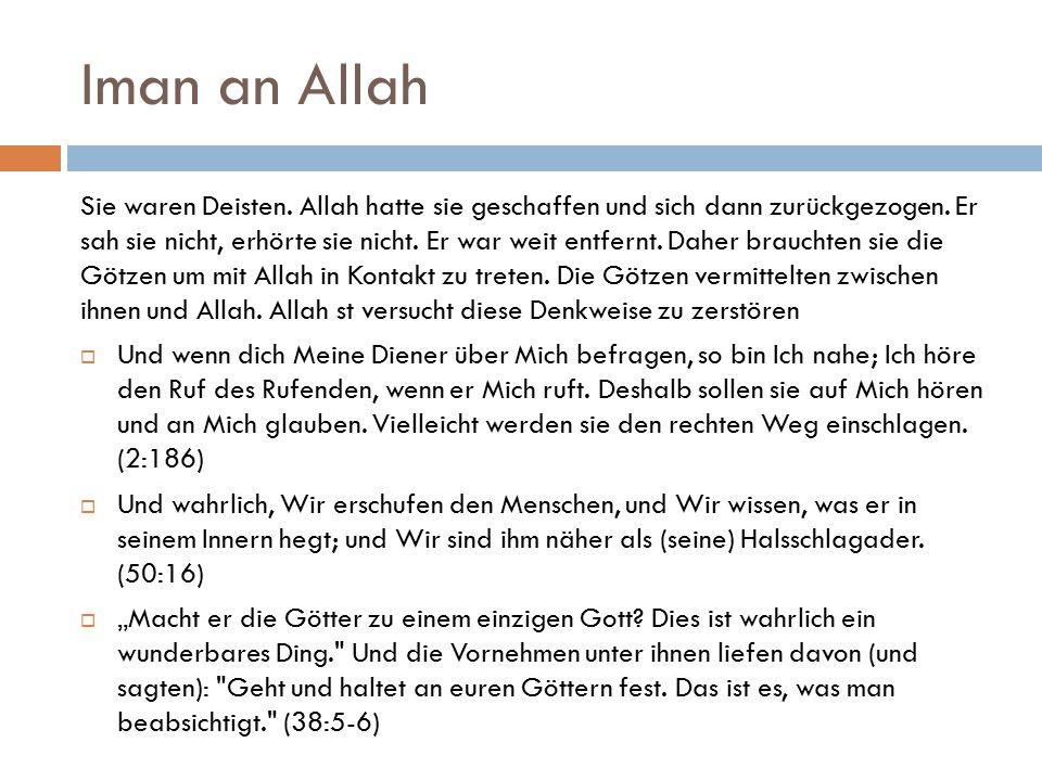 Iman an Allah