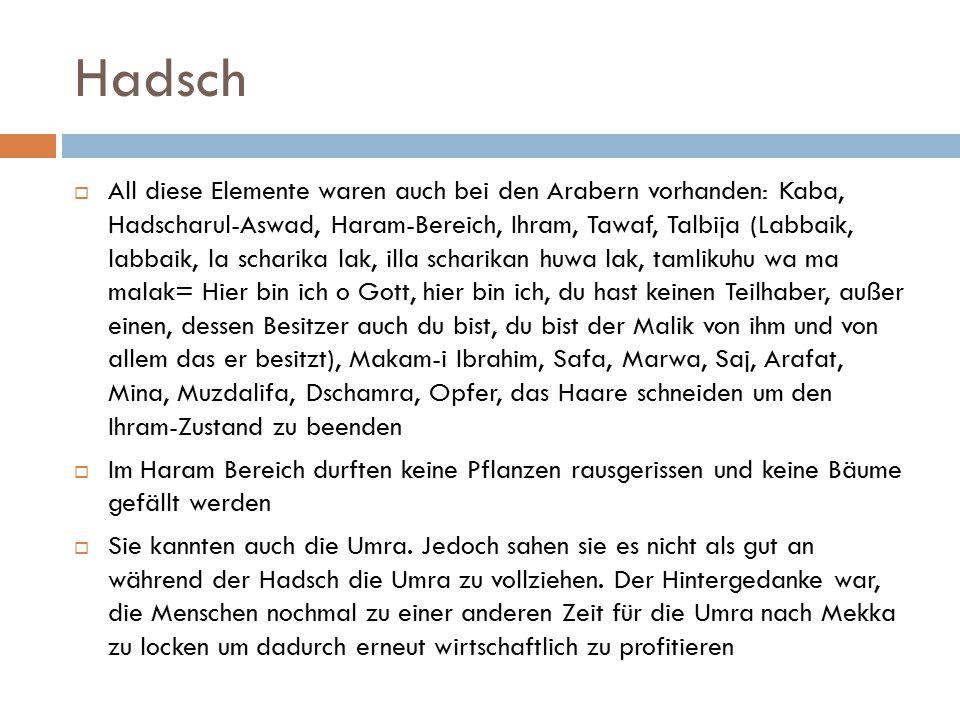Hadsch