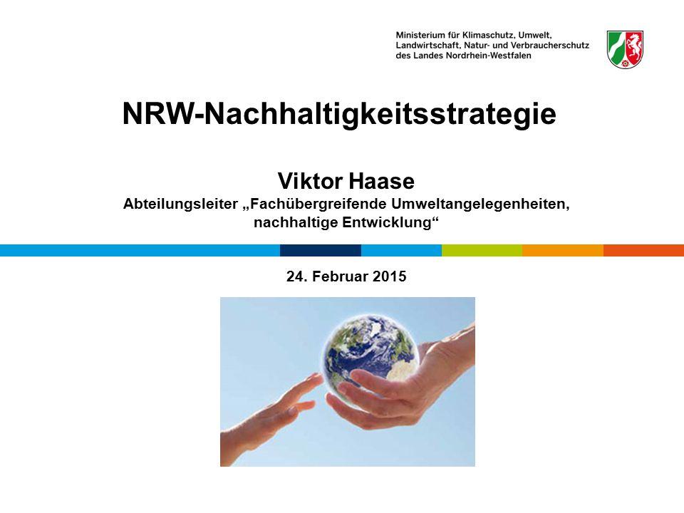 NRW-Nachhaltigkeitsstrategie
