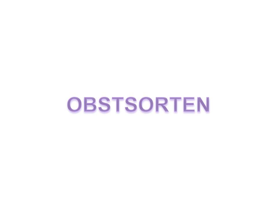 OBSTSORTEN