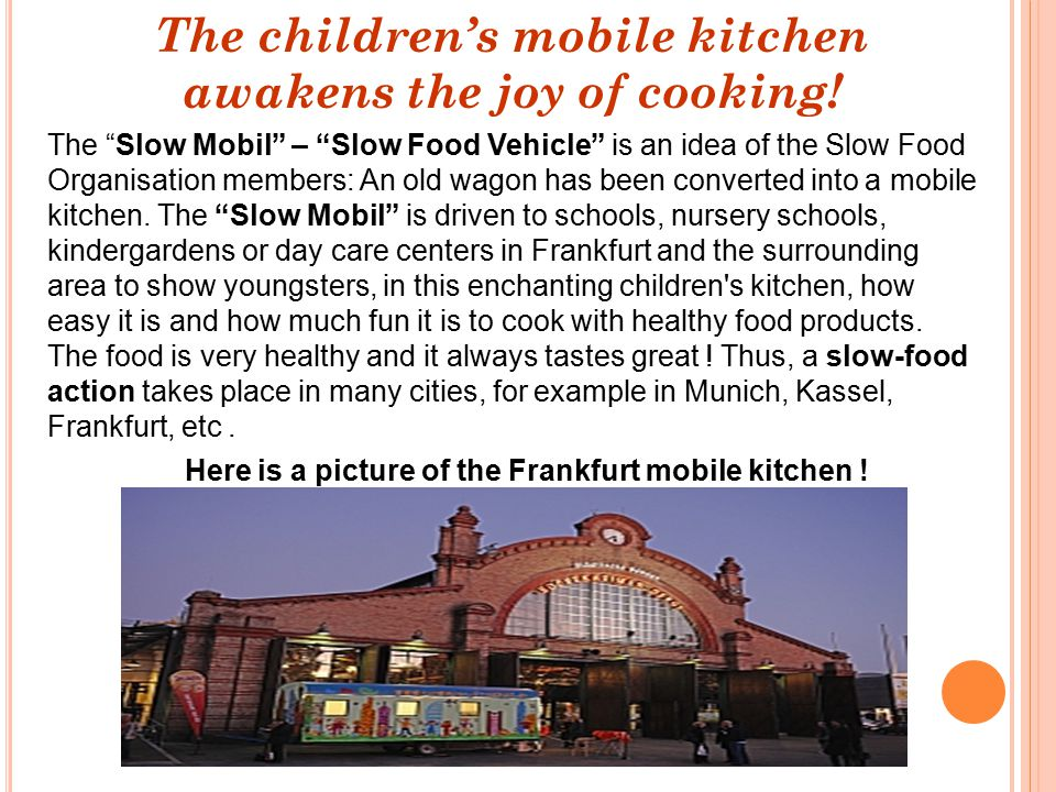 The children's mobile kitchen awakens the joy of cooking!