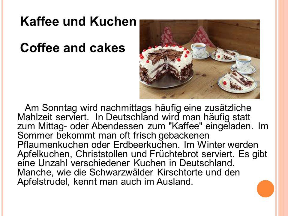Das essen in deutschland deutsche essgewohnheiten ppt for Kuchen deutschland