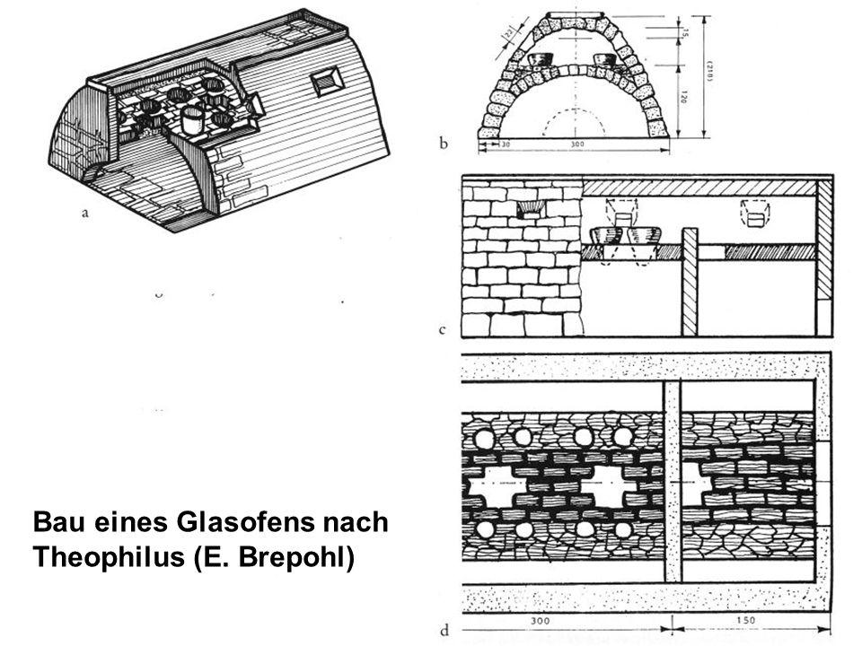 Bau eines Glasofens nach Theophilus (E. Brepohl)